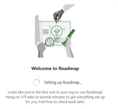 aufrufen der Roadmap