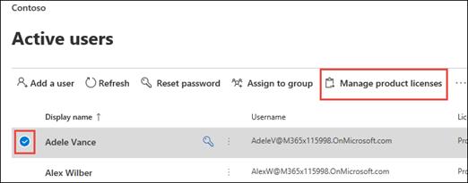 Microsoft 365 Admin Center Sichtbarkeit der Project-Kachel steuern