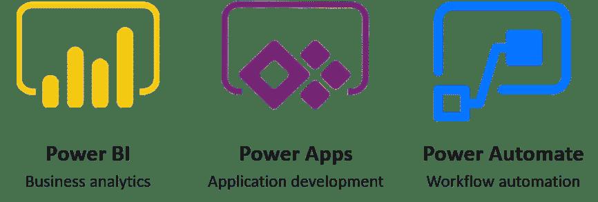 Applikationen der Microsoft Power Platform