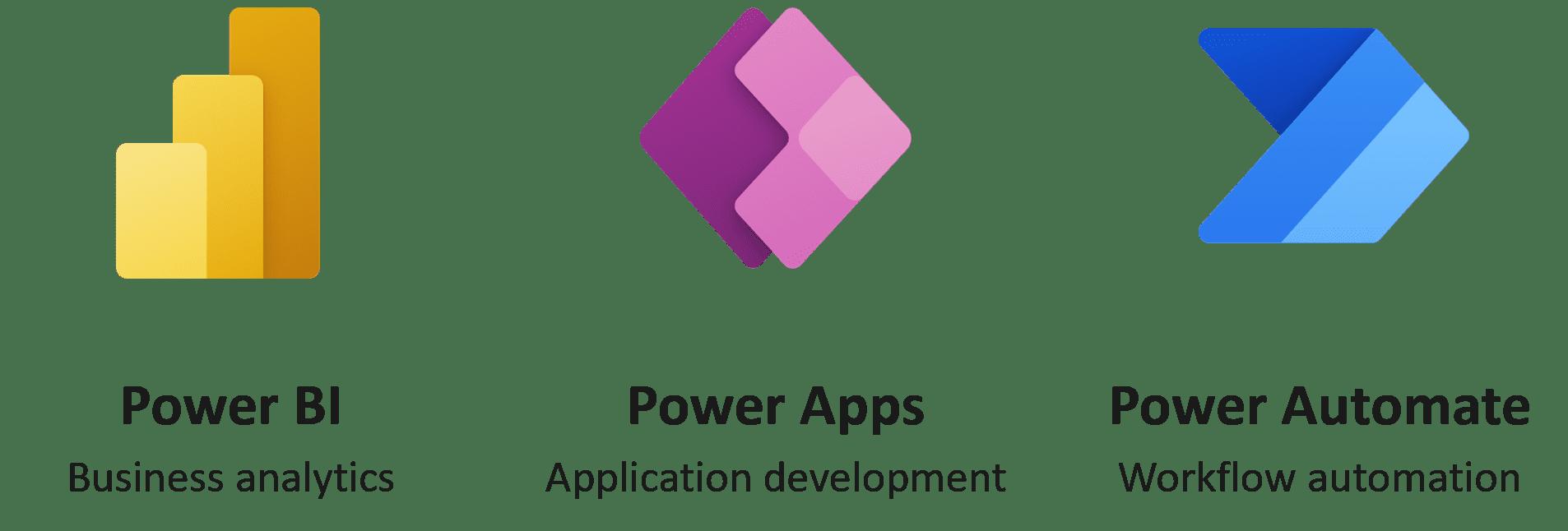 Apps der Microsoft Power Platform